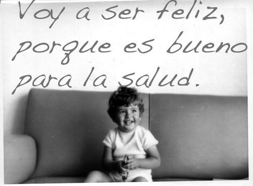 voy a ser feliz