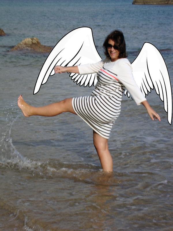 foto con alas