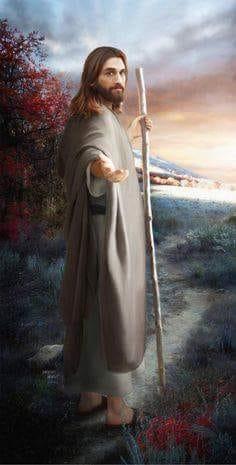 dar la mano a Jesús